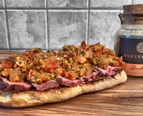 Das ultimative Ankerkraut Bruschetta